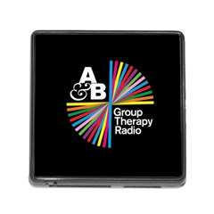 Above & Beyond  Group Therapy Radio Memory Card Reader (square) by Onesevenart