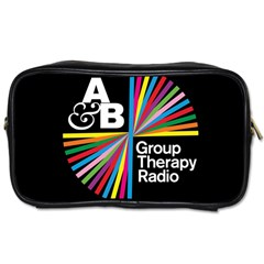 Above & Beyond  Group Therapy Radio Toiletries Bags 2 Side by Onesevenart