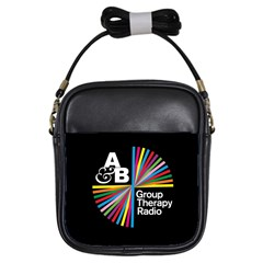 Above & Beyond  Group Therapy Radio Girls Sling Bags by Onesevenart