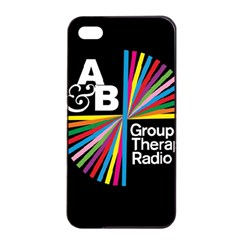 Above & Beyond  Group Therapy Radio Apple Iphone 4/4s Seamless Case (black) by Onesevenart
