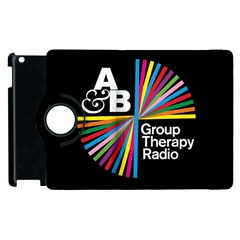 Above & Beyond  Group Therapy Radio Apple Ipad 3/4 Flip 360 Case by Onesevenart