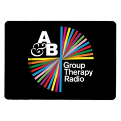 Above & Beyond  Group Therapy Radio Samsung Galaxy Tab 10 1  P7500 Flip Case by Onesevenart