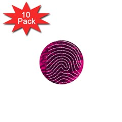 Above & Beyond Sticky Fingers 1  Mini Magnet (10 Pack)  by Onesevenart