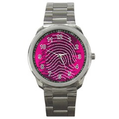 Above & Beyond Sticky Fingers Sport Metal Watch by Onesevenart