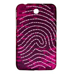 Above & Beyond Sticky Fingers Samsung Galaxy Tab 3 (7 ) P3200 Hardshell Case  by Onesevenart