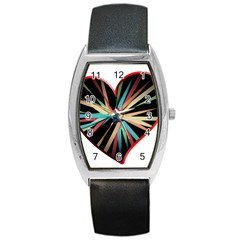 Above & Beyond Barrel Style Metal Watch by Onesevenart
