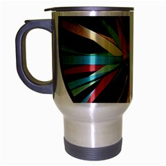 Above & Beyond Travel Mug (silver Gray) by Onesevenart