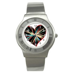 Above & Beyond Stainless Steel Watch by Onesevenart