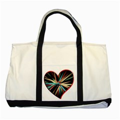 Above & Beyond Two Tone Tote Bag by Onesevenart