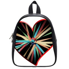Above & Beyond School Bags (small)  by Onesevenart