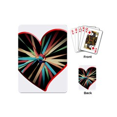 Above & Beyond Playing Cards (mini)  by Onesevenart