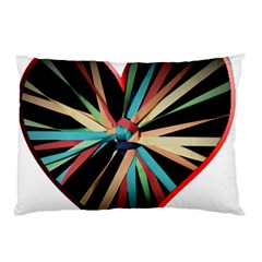 Above & Beyond Pillow Case (two Sides) by Onesevenart