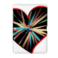 Above & Beyond Samsung Galaxy Tab 2 (10 1 ) P5100 Hardshell Case  by Onesevenart