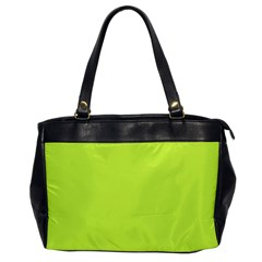 Neon Color   Light Brilliant Lime Green Office Handbags by tarastyle