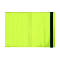 Neon Color   Light Brilliant Lime Green Apple Ipad Mini Flip Case by tarastyle