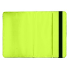 Neon Color   Light Brilliant Lime Green Samsung Galaxy Tab Pro 12 2  Flip Case by tarastyle