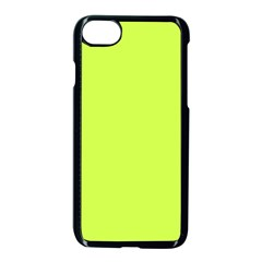 Neon Color   Light Brilliant Lime Green Apple Iphone 7 Seamless Case (black) by tarastyle
