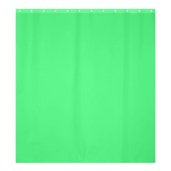 Neon Color   Light Brilliant Malachite Green Shower Curtain 66  X 72  (large)  by tarastyle