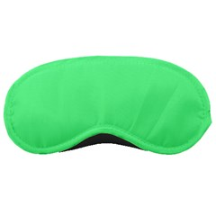Neon Color   Light Brilliant Malachite Green Sleeping Masks by tarastyle