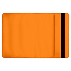 Neon Color   Light Brilliant Orange Ipad Air Flip by tarastyle