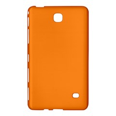 Neon Color   Light Brilliant Orange Samsung Galaxy Tab 4 (8 ) Hardshell Case  by tarastyle
