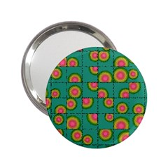 Tiled Circular Gradients 2 25  Handbag Mirrors by linceazul