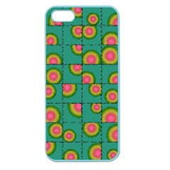Tiled Circular Gradients Apple Seamless Iphone 5 Case (color) by linceazul