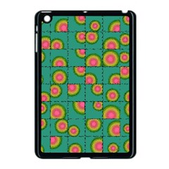 Tiled Circular Gradients Apple Ipad Mini Case (black) by linceazul