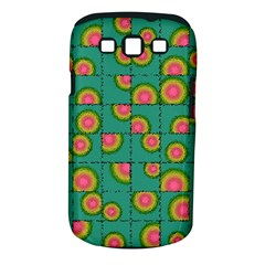 Tiled Circular Gradients Samsung Galaxy S Iii Classic Hardshell Case (pc+silicone) by linceazul