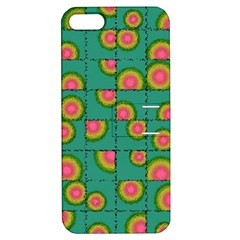 Tiled Circular Gradients Apple Iphone 5 Hardshell Case With Stand by linceazul