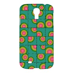 Tiled Circular Gradients Samsung Galaxy S4 I9500/i9505 Hardshell Case by linceazul