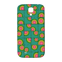 Tiled Circular Gradients Samsung Galaxy S4 I9500/i9505  Hardshell Back Case by linceazul