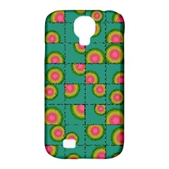 Tiled Circular Gradients Samsung Galaxy S4 Classic Hardshell Case (pc+silicone) by linceazul