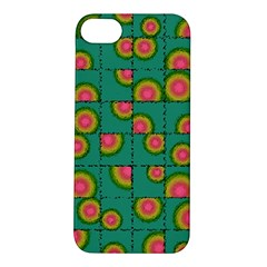 Tiled Circular Gradients Apple Iphone 5s/ Se Hardshell Case by linceazul