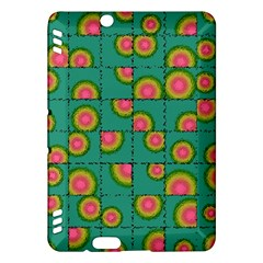 Tiled Circular Gradients Kindle Fire Hdx Hardshell Case by linceazul