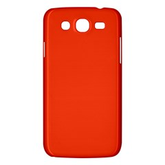 Neon Color   Light Brilliant Scarlet Samsung Galaxy Mega 5 8 I9152 Hardshell Case  by tarastyle