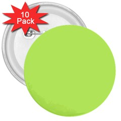 Neon Color   Light Brilliant Spring Bud 3  Buttons (10 Pack)  by tarastyle