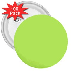 Neon Color   Light Brilliant Spring Bud 3  Buttons (100 Pack)  by tarastyle