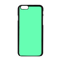 Neon Color   Light Brilliant Spring Green Apple Iphone 6/6s Black Enamel Case by tarastyle