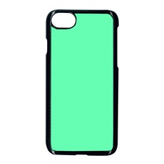 Neon Color   Light Brilliant Spring Green Apple Iphone 7 Seamless Case (black) by tarastyle