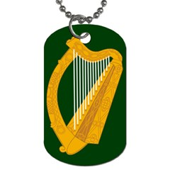 Flag Of Leinster Dog Tag (two Sides) by abbeyz71