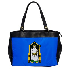 Flag Of Mide Office Handbags