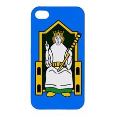 Flag Of Mide Apple Iphone 4/4s Premium Hardshell Case by abbeyz71