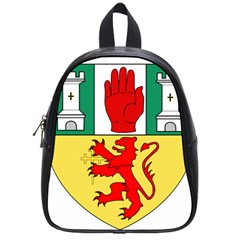 County Antrim Coat Of Arms School Bags (small)  by abbeyz71