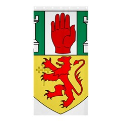 County Antrim Coat Of Arms Shower Curtain 36  X 72  (stall)  by abbeyz71
