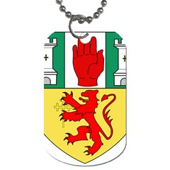 County Antrim Coat Of Arms Dog Tag (two Sides) by abbeyz71