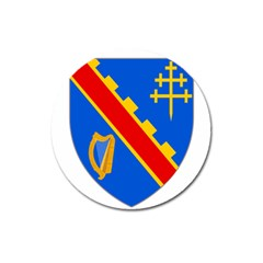 County Armagh Coat Of Arms Magnet 3  (round) by abbeyz71
