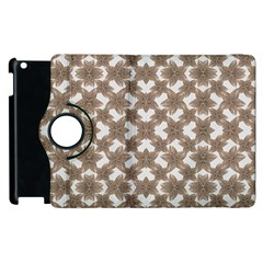 Stylized Leaves Floral Collage Apple Ipad 2 Flip 360 Case by dflcprints