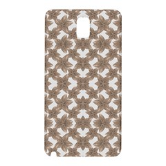 Stylized Leaves Floral Collage Samsung Galaxy Note 3 N9005 Hardshell Back Case by dflcprints