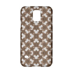 Stylized Leaves Floral Collage Samsung Galaxy S5 Hardshell Case  by dflcprints